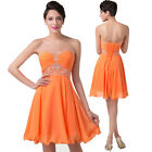 SALE~Short Mini Homecoming Cocktail Dress Prom Semi Formal Bridesmaid Party Gown