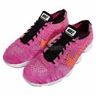 Wmns Nike Flyknit Zoom Agility Pink Orange Womens Training Shoes 698616-602