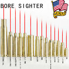 US Fast Red Dot Laser Brass Boresight CAL Cartridge Bore Sighter For Rifle Scope