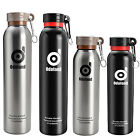 500/800ml Vacuum Insulated Stainless Stell Water Bottle BPA Free Thermos Flask