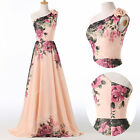 2017 Long Chiffon Bridesmaid Formal Gown Ball Party Cocktail Evening Prom Dress