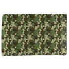 Green Woodland Camo All Over Hand Towel