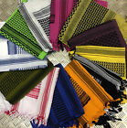 100% Cotton Shemagh / Arab Scarf / Pashmina / Wrap / Sarong. All Colours - NEW