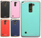 For LG Stylo 2 LS775 HARD Frame HYBRID HARD Case Rubber Phone Cover Accessory