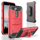 For ZTE Grand X 4 Damon X4 Tough Armor Case Defender Holster Heavy Duty Cover - Time Remaining: 2 days 15 hours 56 minutes