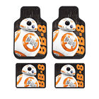 New Star Wars BB-8 Robot Car Truck Front / Back Plasticlear Rubber Floor Mats $73.77 CAD