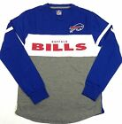 Buffalo Bills Shirt Men's ERA Long Sleeve Colorblock Tee NFL Football G-III