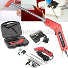 200W Electric Styrofoam Foam Heat Wire Tool Grooving Cutter Blades Various Kit