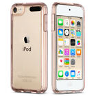 For iPod Touch 5 6th Gen Crystal Clear Back Shockproof Bumper Hard Case Cover
