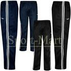 Mens 2 Stripe Lounge Pants Tracksuit Bottoms Pyjamas Nightwear Trousers Size