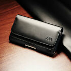 Cell Phone Clip Pouch Holder Cover Loop Belt Strap Case Business Black