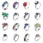Party ring Gift 925 Silver  Women Rings Wedding Jewelry Size 6/7/8/9/10