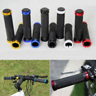 MTB BMX Road Mountain Bike Bicycle Cycling Lock-On Handlebar Bar End Hand Grips