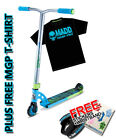 Madd Gear MGP VX7 Pro Scooter Sky Blue/Lime + Free MGP T-Shirt