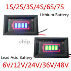 1-7S Lithium Battery Capacity Indicator Tester 12/24/36/48V Lead Acid Battery