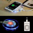 Universal Qi Wireless Charger Power Charging Receiver Kit For iPhone 7 7Plus 6