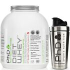 PhD Nutrition Diet Whey Protein 2KG / 80 SERVINGS + FREE Stainless Steel Shaker
