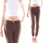 Damen Hosen Treggings Jeggings Röhrenhose Hüfthose Leggings Skinny Röhre Wow B60