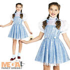 Sequin Dorothy Wizard of Oz Fancy Dress Girls World Book Day Kids Childs Costume