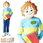 Horrid Henry Boys Fancy Dress Kids World Book Day Childrens Child Costume + Mask