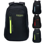 "Men's 15"" Laptop Notebook Backpack Rucksack School Business Travel Camping Bag"