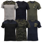 Boys Camouflage T Shirt Brave Soul Kids Short Sleeved Military Army Top Summer