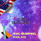 * Gloss Stardust Galaxy Vinyl Wrap Sticker Graphic Decal Sheet Wallpaper DIY S15