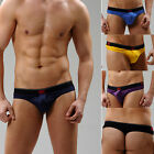Sexy Men T-Back Underwear Bugle Pouch Thong Briefs BACKLESS Underpants Shorts