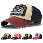 Men Women Retro Letter Snapback Baseball Ball Cap Outdoor Sports Hats Adjustable