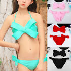 Sexy Women Bikini Bandeau Bandage Push Up Padded Swimwear Swimsuit Bathing Suit