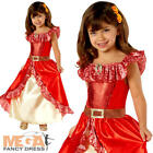 Elena of Avalor Deluxe Girls Fancy Dress Disney Princess Childrens Kids Costume