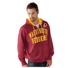 Washington Redskins Hoodie Men's NFL Pass Attempt Full Zip Sweatshirt Hooded