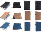 Luxury Leather Case Ultra Thin Smart Auto Sleep Cover For Samsung Tab ipad 234