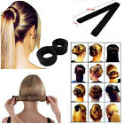 Hair Styling Donut Former Foam French Twist Magic DIY Tool Bun Maker Fashion