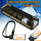 video cards for laptops - V8.0 EXP GDC Beast Laptop External Independent Video Card Dock For PCI-E X16