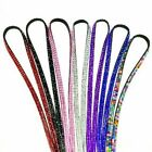 Rhinestone Crystal Bling Badge ID Key Holder Lanyard Necklace Strap Belt Sanwood
