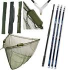 "42"" INCH CARP FISHING NGT LANDING NET 2M HANDLE STINK BAG 3M 4M 5M CARBON"