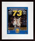 "GS Warriors ""73 Wins!""  Photo Display (SGA UnderFifty Series)  2 Sizes Available"