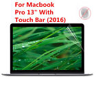 """Anti Glare Matte Screen Protector Film for Mac Book Pro 13"""" & 15"""" With Touch Bar"""