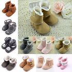 Cute Toddler Booties Baby Soft Sole Girl Boots Crib Infant Warm Shoes 0-12Months