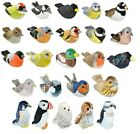 NEW PLUSH WILD REPUBLIC RSPB BIRDS AUTHENTIC SONG SOUND CUDDLY SOFT TOY TEDDY
