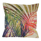 """Vintage Bahama Swaying Palms Outdoor CUSHION COVER Throw PILLOW CASE 18"""""""