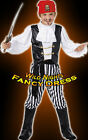 FANCY DRESS COSTUME # BOYS DELUXE PIRATE CHILD AGE 4-12
