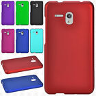 For Alcatel OneTouch Flint Rubberized HARD Protector Case Cover +Screen Guard