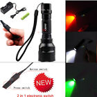 CISNO LED Light Tactical Flashlight with 2 in 1 Pressure Pad for Hunting