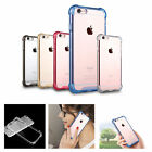 New Shockproof TPU Gel Clear Soft Rubber Bumper Case Cover For iPhone 6s 6 Plus