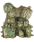 Kids Childs Adventure Outdoor Fancy Dress Up Play Army Military Vest Set KBT