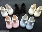 GIRLS BABY SHOES by  EARLY DAYS/BAYPODS 6 COLOURS , 0-3m to 12-18m ..SOFT SOLE