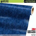 MINI ELITE BLUE Camouflage Vinyl Vehicle Car Wrap Camo Film Sheet Roll Adhesive