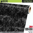 MINI ELITE BLACK Camouflage Vinyl Vehicle Car Wrap Camo Film Sheet Roll Adhesive